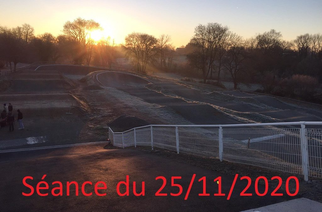 Séance du Mercredi 25 Novembre 2020