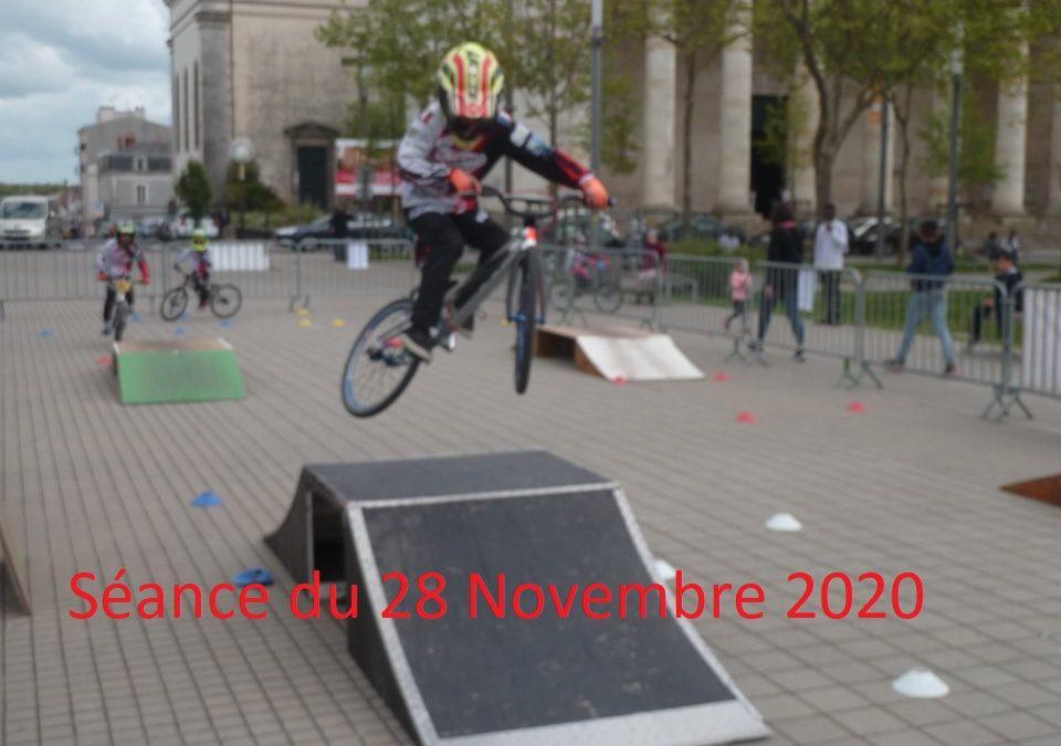 Séance du Samedi 28 Novembre 2020
