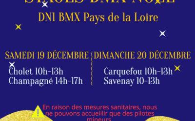 Stages BMX Noël DN1 Pays de la Loire