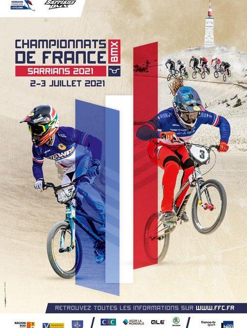 Infos et Inscriptions Championnats de France BMX 2021 Elite & Junior – Sarrians (SPAC)